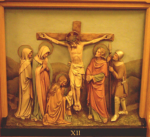 The Twelfth Station - Jesus dies on the Cross